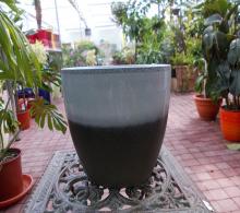 Vas decorativ White Earth H17 D18