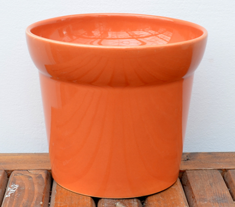 Mască ceramică portocalie H13 D11