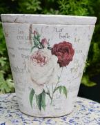 Mască de ghiveci cu trandafiri