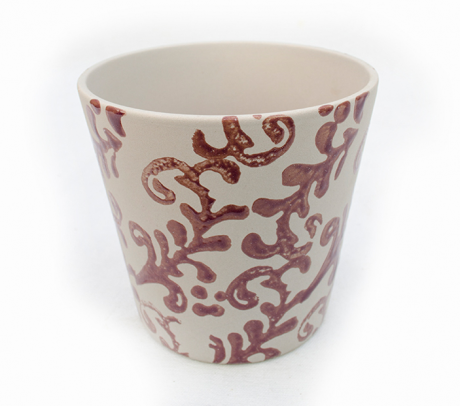 Mască decorativă din ceramică