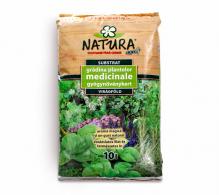 Pamant ecologic pentru plante medicinale